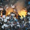 OM-PSG: Des départs d'incendie côté supporters marseillais, comportements «non admissibles».