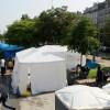 Quel pourrait être le visage du camp humanitaire de Paris annoncé par Anne Hidalgo?
