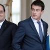 Hollande et Valls toujours au plus bas dans les sondages après l'attentat de Nice.
