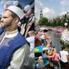 Ludovic-Mohamed Zahed : un imam gay à la Gay Pride d'Amsterdam.