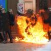Manifestation contre la Loi travail: échauffourées à Paris, au moins 6 blessés.