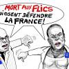 Nouveau tag anti-police: Un phénomène en «recrudescence», selon Alliance.