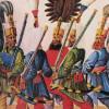 Janissaires : jeunes enfants chrétiens âgés de 10 à 15 ans esclaves et soldats.