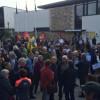 Migrants : des heurts entre manifestants à Trégastel.