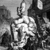 La Guerre des farines, 1er grand mouvement social contre le libéralisme.