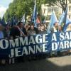 Fête nationale d'hommage à sainte Jeanne d'Arc par Civitas.