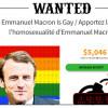 Etats-Unis: Un site promet une récompense à quiconque prouvera l'homosexualité de Macron.