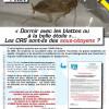 Essonne: Pour éviter les blattes, des CRS dorment à la belle étoile.